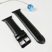 Ремешок для Apple Watch 38-40mm, New Luxury leather, темно-зеленый