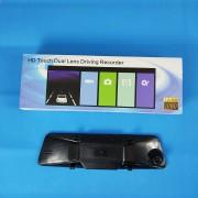 Видеорегистратор-зеркало W711, с камерой задн. вида,1080P, GPS, ночн. режим, сенс. экран, датчик дв.