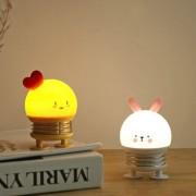 """Светодиодный светильник-ночник (LED) TL02, с аккумуляторм 1200mAh, 3.7V, 2W """"Цыплёнок"""""""