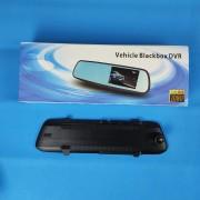Видеорегистратор-зеркало L9000, с камерой задн. вида,1080P, ночн. режим, датчик удара