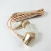 Наушники Mi In-Ear Headphones Basic Matte с микрофоном, золотой