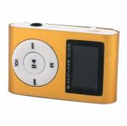 MP3 плеер MP01 + FM радио c дисплеем, золотой