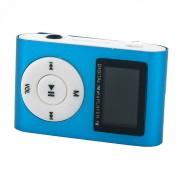 MP3 плеер MP01 + FM радио c дисплеем, синий