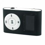 MP3 плеер MP01 + FM радио c дисплеем, черный