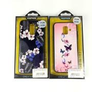 Чехол-накладкa для iPhone X/XS, Mopesi, цветочный узор