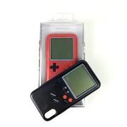"""Чехол-накладкa для iPhone X/XS, Tetris (со встроенной игрой """"Тетрис""""), красный"""
