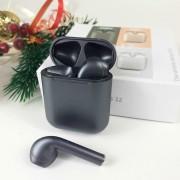 Гарнитура Bluetooth  Apple AirPods inPods 12 Eleven Pro V5.0 Window, перламутровый черный
