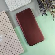 Чехол-книга для Apple iPhone 11 Pro Max, Open Fashion, горизонтальная с магнитом, бордовый