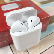 Гарнитура Bluetooth  Apple AirPods H2, V5.0  белый