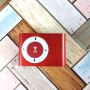 Плеер MP3 + FM-радио, красный