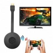 Медиаплеер для передачи со смартфона на TV по Wi-fi (Android/iOS -AirPlay/DLNA/Miracast) Cromecast