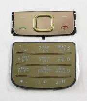 Клавиатура оригинальная для Nokia 6700 золото