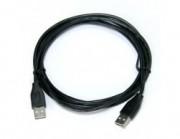 VS Кабель USB2.0 A вилка - А вилка, длина 1,8 м. (U418)