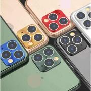 Защитная металлическая накладка на камеру для iPhone 11 Pro/11 Pro Max, зеленый