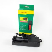 ЗУ АКБ HD-8866 i-1 USB (266500,18650,14500,16340) HONG DONG, черный