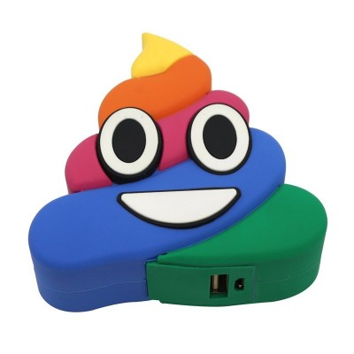 "Внешний аккумулятор  Cartoon Series ""Rainbow poop"" 8800mAh,"