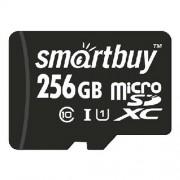 Micro SDXC 256GB SmartBuy UHS-1 (Class 10) без адаптера (SB256GBSDCL10-00)