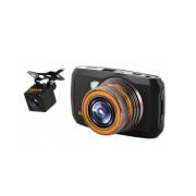 Видеорегистратор Каркам D2, Компактный Full HD видеорегистратор с камерой заднего вида.