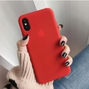 """Чехол-накладка для iPhone 7/8 серия """"Оригинал"""", красный"""