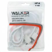 Walker C110 USB кабель iPhone 3G/4S, в пакете, белый