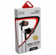 Наушники Walker H510, золотые, с микрофоном и кнопкой ответа