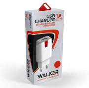 СЗУ Micro USB 1A Walker WH-12, белый