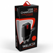 СЗУ Micro USB 2A Walker WH-22, черное
