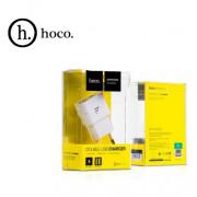 UH202 Сетевое зарядное устройство Hoco 2USB 2100mAh