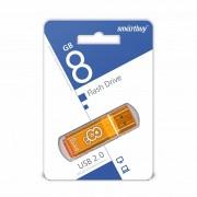 USB  8GB SmartBuy Glossy series (SB8GBGS-Or), оранжевый
