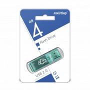USB  4GB SmartBuy Glossy Series (SB4GBGS-G), зеленый