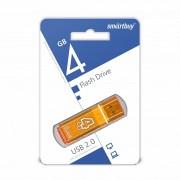 USB  4GB SmartBuy Glossy Series (SB4GBGS-Or), оранжевый