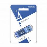 USB  4GB SmartBuy Glossy Series (SB4GBGS-B), синий