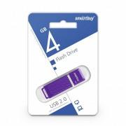 USB  4GB SmartBuy Quartz Series (SB4GBQZ-V), фиолетовый