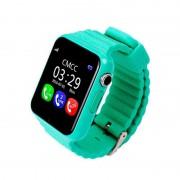 Детские Часы Smart Baby Watch V7K - сим-карта/GPS/аксельмометр, зеленые