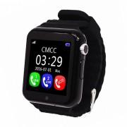 Детские Часы Smart Baby Watch V7K - сим-карта/GPS/аксельмометр, черные