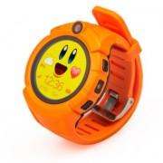 Детские Часы Smart Q360,камера/сим-карта/GPS/Wi-Fi , оранжевые