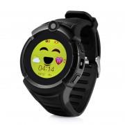 Детские Часы Smart Q360,камера/сим-карта/GPS/Wi-Fi, черные