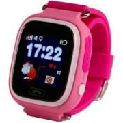 Детские часы Smart Q90 - сим-карта/GPS/Wi-Fi/акселерометр, красные