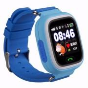 Детские часы Smart Q90 - сим-карта/GPS/Wi-Fi/акселерометр, синие