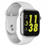 Часы Smart W34 - сим-карта/акселерометр /датчик ЧСС , серебро