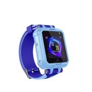 Часы детские Smart X11s, влагозащищенные/камера/фонарик, голубые