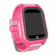 Часы Smart M07 сим-карта/GPS/Wi-Fi/акселерометр/водонепронецаемые, розовые
