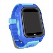 Часы Smart M07 сим-карта/GPS/Wi-Fi/акселерометр/водонепронецаемые, голубые