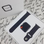 Часы Smart EC07, Пульсометр/GPS ,Apple desing .черные