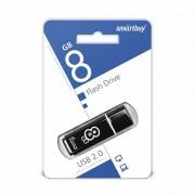 USB  8GB SmartBuy Glossy series черная (SB8GBGS-K)