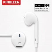 Наушники Kingleen для iPhone 6/7 Lightning разъем, i32