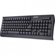 "Perfeo клавиатура ""HUB-BIT"" Multimedia, 3 USB Входа-хаба, чёрная (PF-855-HUB)"
