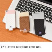 Унивнерсальный чехол-аккумулятор для iPhone 5/6/7 HOCO 4000 mA  BW4 Tiny cool back, белый
