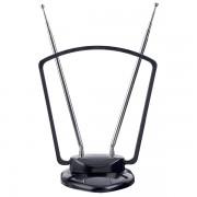 """Perfeo ТВ антенна """"GATE"""", активная, встр. усилитель, питание от TV или ресивера 5V, DVB-T2"""