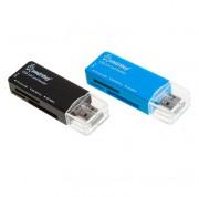 Smartbuy Картридер USB 2.0 SD/microSD/MS/M2 749 белый (SBR-749-W)